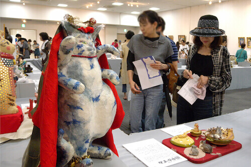 FH-来る福招き猫まつり展示